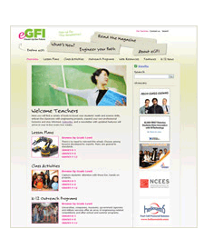 eGFI: News For Teachers