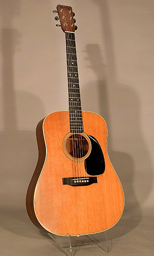 Martin Guitar used by Johnny Cash. Courtesy of the National Music Museum, University of South Dakota