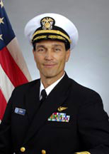 "Rear Admiral Philip M. Kenul, an engineer, is in charge of NOAA ships and aircraft, including the ""hurricane hunters."""