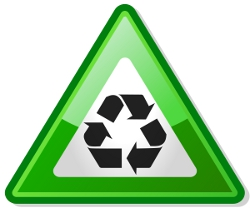 Important Recycle by David Vignoni (Wikimedia Commons)