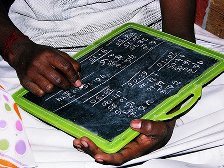 Math on Slate by neychurluvr (Flickr Commons)