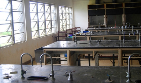Chemistry Lab (image by mjmkeating - Flickr Commons)