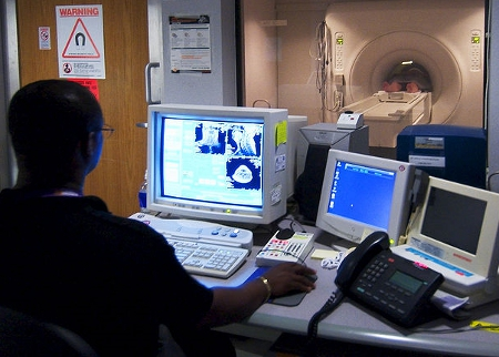 Giving a Patient an MRI