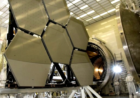 Giant Telescope Mirrors (NASA Image)