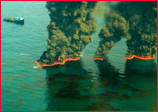 Workers Burn Off Some Gulf Oil Spill Petroleum