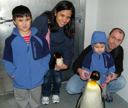 Ideaventions Founders, their Children, and a Penguin