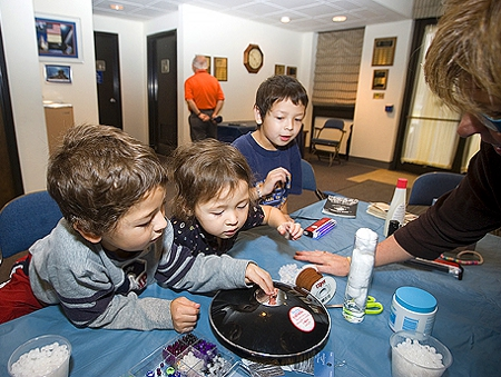 Young Micronauts Learn with NASA
