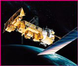 NOAA Satellite Collecting Weather Data