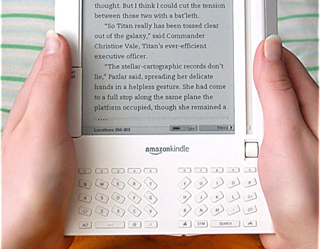 Reading from an Amazon Kindle