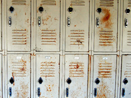 Rusty Lockers