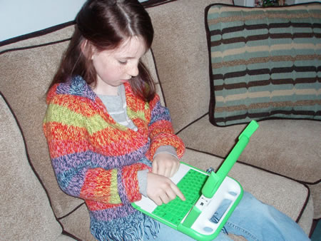 Child Learning from Computer