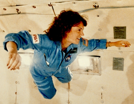 Weightlessness (Image from NASA)