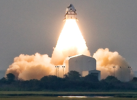 Max Launch Abort System (MLAS) Lifts Off from Wallops Island