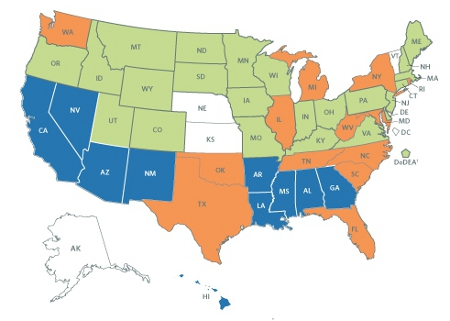 Proficiency Map