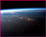 Earth's Horizon (Image by NASA)