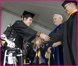 UC-Berkeley Student Austin Whitney Graduates with Exoskeleton