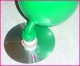 Hover Baloon Activity