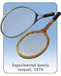 tennis experimental racquet