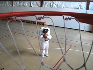 Basketball NASA shooting