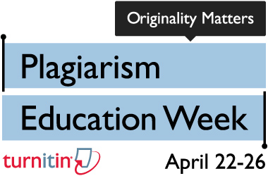 plagiarism week