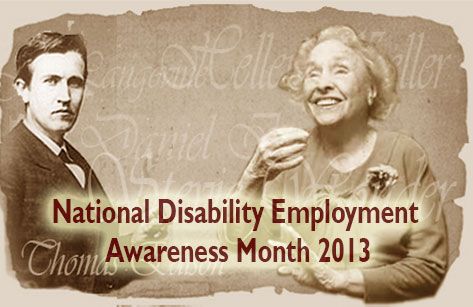2013 National DisabilityEmployment month