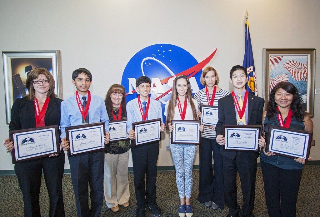 DuPont Challenge Science Essay Competition award winnerss