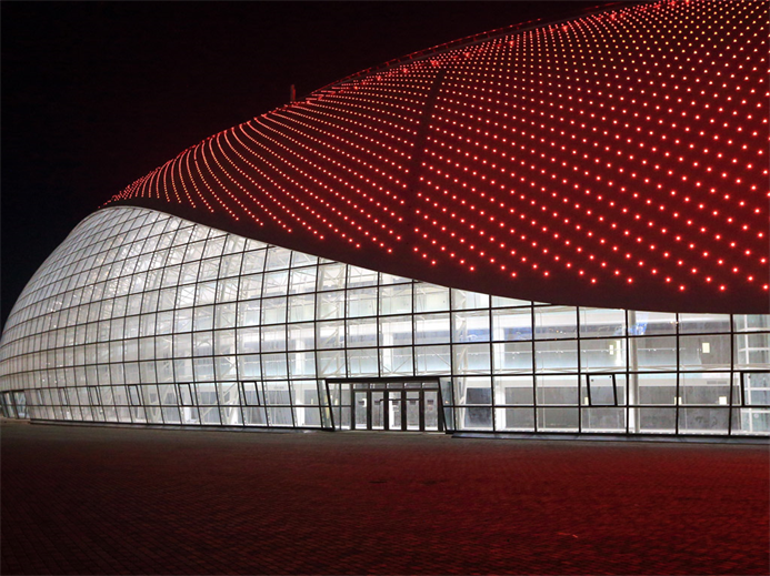 OLYMPICS Bolshoy Dome red