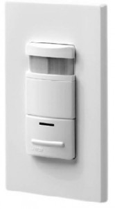 Figure 2. A wall-mounted ultrasonic motion sensor detects room movement and controls lighting.Copyright © City of Alexandria VA