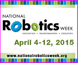 National Robotics Week 2015 logo