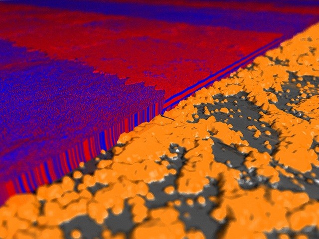 nanostructures from NIST science as art