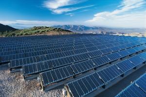 Solar panel arrays