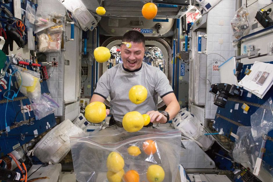 NASA Fresh fruit delivery