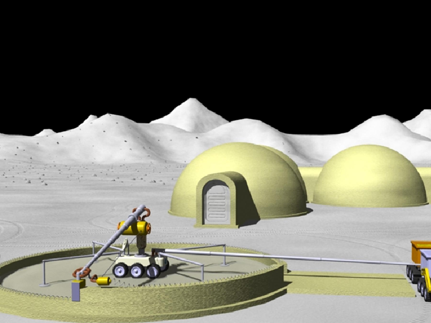 NASA Mard 3d printed habitat