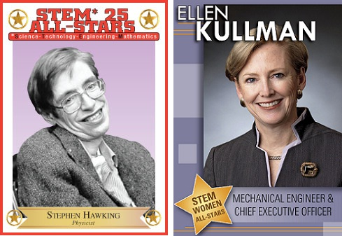 STEM All Star trading cards
