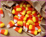 bag of candy corn