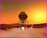 Mars hopper artist rendition