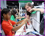 NSF booth at 2014 USA Science and Engineering Fesitval