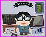 Computer programmer kid