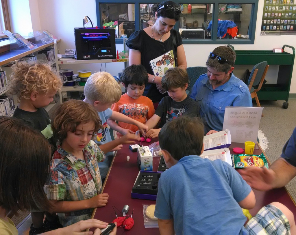 Making at Keene Public Library
