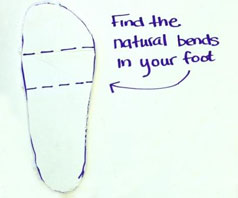 shoe cub_fancyfeet_activity1_sole tracing