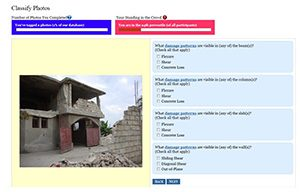 Notre Dame Haiti earthquake classification projects
