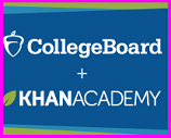 Khan Academy and College Board logo
