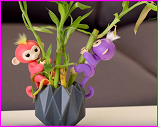 Fingerlings on bamboo