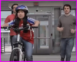Ohio State grad students with Leah's bike